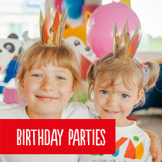Birthday parties with GYM generation